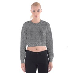 Holy Crossw Women s Cropped Sweatshirt