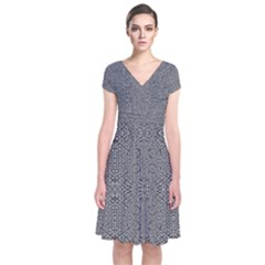 Holy Crossw Wrap Dress