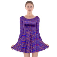 Tishrei Long Sleeve Skater Dress