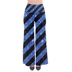STR3 BK-BL MARBLE Pants