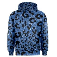 Skin5 Black Marble & Blue Marble Men s Pullover Hoodie