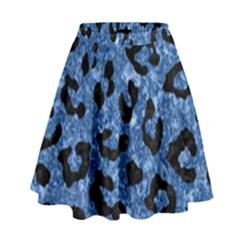 Skin5 Black Marble & Blue Marble High Waist Skirt