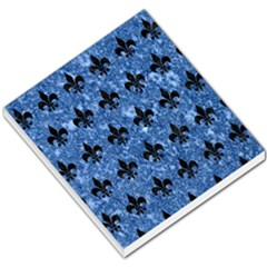 Royal1 Black Marble & Blue Marble Small Memo Pads