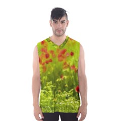 Poppy I Men s Basketball Tank Top