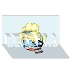 Bibbidi Bobbidi Bondage BEST BRO 3D Greeting Card (8x4)