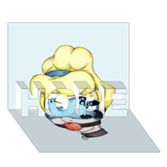 Bibbidi Bobbidi Bondage HOPE 3D Greeting Card (7x5)