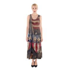 Al220712001 Sleeveless Maxi Dress