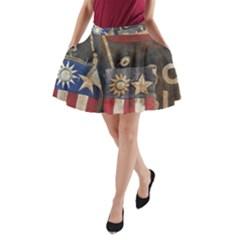Al220712001 A-Line Pocket Skirt