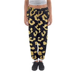SKN5 BK MARBLE GOLD (R) Women s Jogger Sweatpants