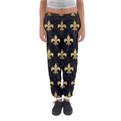 RYL1 BK MARBLE GOLD (R) Women s Jogger Sweatpants
