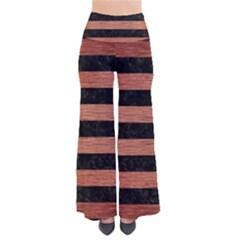 STR2 BK MARBLE COPPER Pants