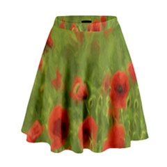 Poppy II - wonderful summer feelings High Waist Skirt