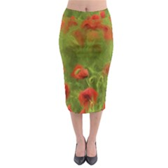 Poppy Ii   Wonderful Summer Feelings Midi Pencil Skirt