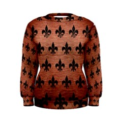 RYL1 BK MARBLE COPPER Women s Sweatshirt