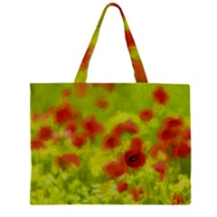 Poppy III Large Tote Bag