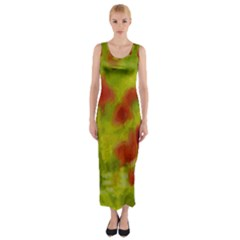Poppy Iii Fitted Maxi Dress