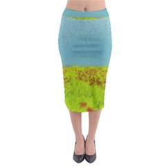 Poppy IV Midi Pencil Skirt