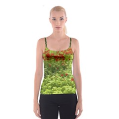 Poppy V Spaghetti Strap Top
