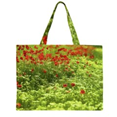 Poppy V Large Tote Bag