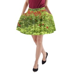 Poppy V A-Line Pocket Skirt