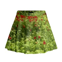 Poppy V Mini Flare Skirt