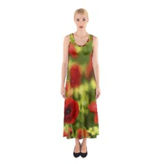 Poppy Vi Sleeveless Maxi Dress