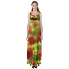 Poppy VI Empire Waist Maxi Dress