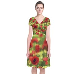 Poppy Vi Wrap Dress