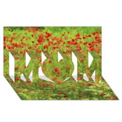 Poppy Vii Mom 3d Greeting Card (8x4)