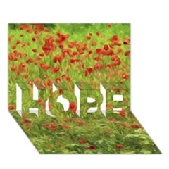 Poppy VII HOPE 3D Greeting Card (7x5)