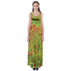 Poppy VII Empire Waist Maxi Dress