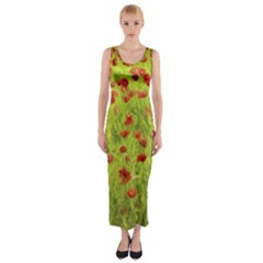 Poppy Viii Fitted Maxi Dress