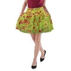 Poppy VIII A-Line Pocket Skirt
