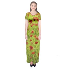 Poppy VIII Short Sleeve Maxi Dress