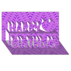 TOTAL CONTROL Happy Birthday 3D Greeting Card (8x4)