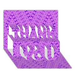 TOTAL CONTROL THANK YOU 3D Greeting Card (7x5)