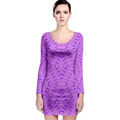 TOTAL CONTROL Long Sleeve Bodycon Dress