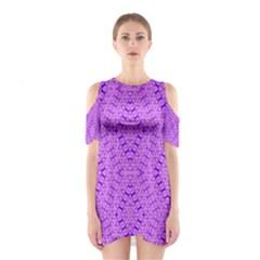 TOTAL CONTROL Cutout Shoulder Dress