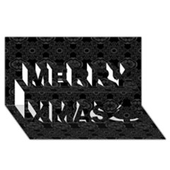 Powder Magic Merry Xmas 3d Greeting Card (8x4)