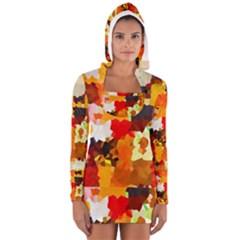 Love Me 1 Women s Long Sleeve Hooded T-shirt