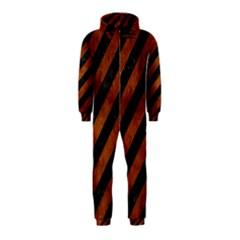 STR3 BK MARBLE BURL Hooded Jumpsuit (Kids)