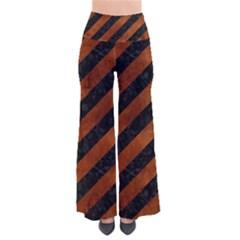 STR3 BK MARBLE BURL Pants