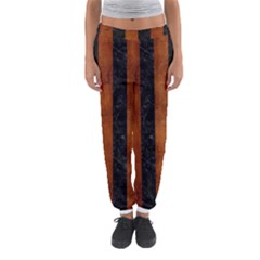 STR1 BK MARBLE BURL Women s Jogger Sweatpants