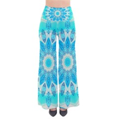 Blue Ice Goddess, Abstract Crystals Of Love Pants