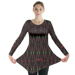 Blax In Color Long Sleeve Tunic