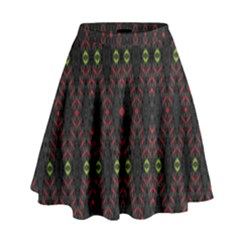 Blax N Color High Waist Skirt