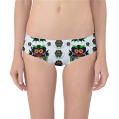 Monster Trolls In Fashion Shorts Classic Bikini Bottoms
