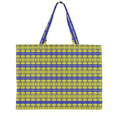 NO VACCINE Large Tote Bag