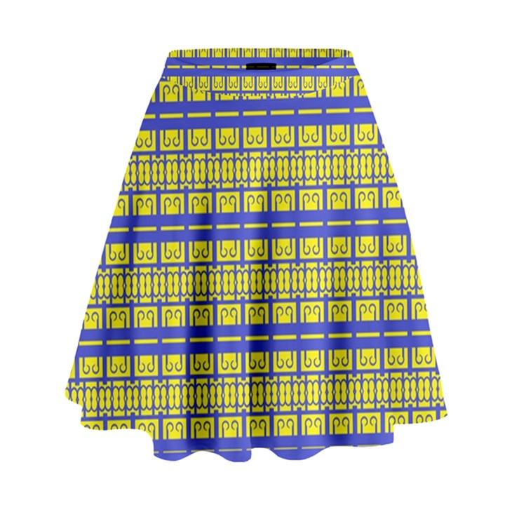 NO VACCINE High Waist Skirt