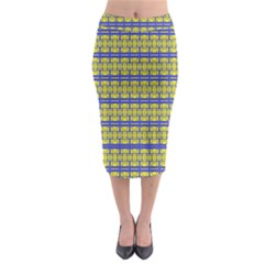 No Vaccine Midi Pencil Skirt